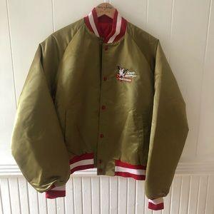 """Vintage """"Bud Light Spud McKenzie"""" Bomber Jacket"""